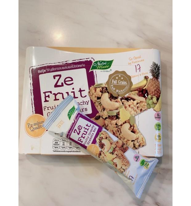 ZE FRUIT-FRUITY CRUNCHY GRANOLA BAR