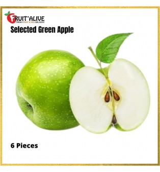 SOUTH AFRICA GREEN APPLE- 6PCS