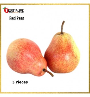 SOUTH AFRICA RED PEAR (5 PCS)
