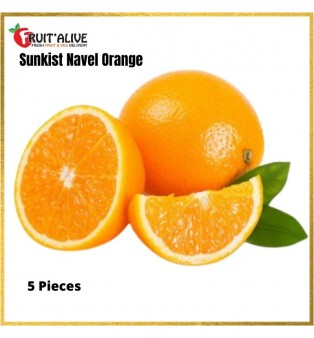 USA SUNKIST BARNFIELD NAVEL ORANGE (M SIZE)