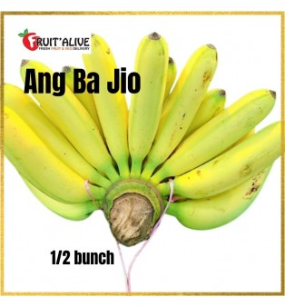ANG BA JIO BANANA (1/2 BUNCH) MALAYSIA