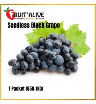 AUSTRALIA SEEDLESS BLACK GRAPE (900G-1KG)