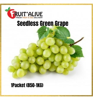 AUSTRALIA SEEDLESS GREEN GRAPE -AUTUMN CRISP (900G-1KG)