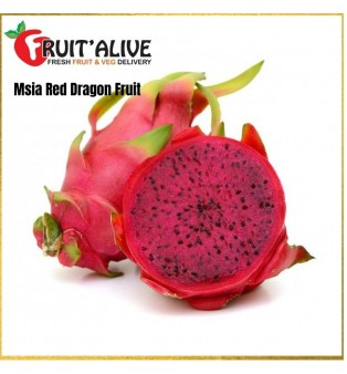 NATURALLY RIPEN RED DRAGON FRUITS MALAYSIA (600G++)