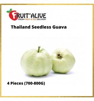 THAILAND SEEDLESS GUAVA 4 PCS