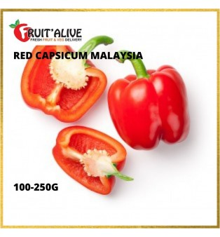 RED CAPSICUM MALAYSIA (100G-250G)