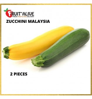 ZUCCHINI MALAYSIA (YELLOW/GREEN)-2PCS